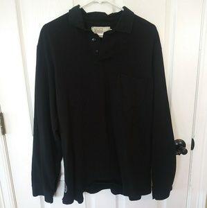 2/$30 Black XL Ralph Lauren Long Sleeve Polo